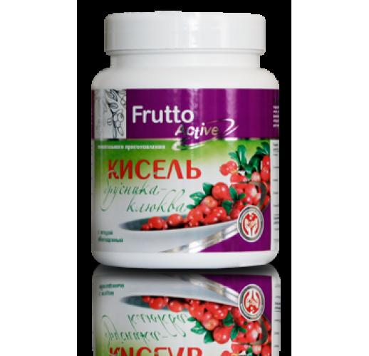 Кисель «Брусника-Клюква» с ягодой, 300 грн
